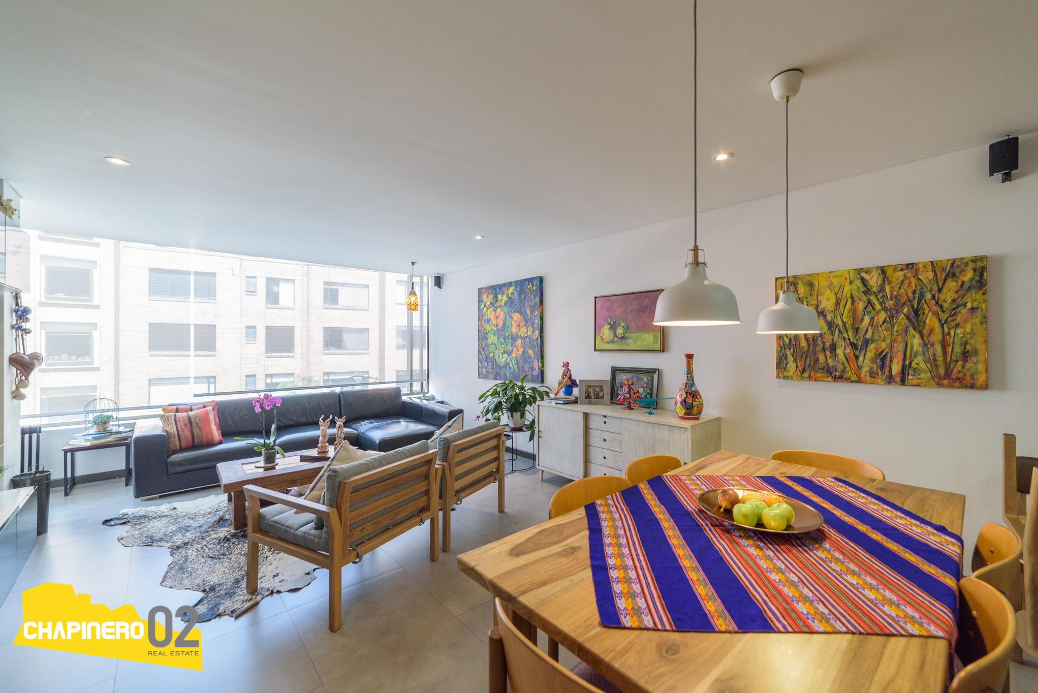 Apto Venta :: 87 m² :: Bellavista :: $610 M