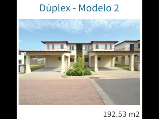 WOODLANDS, Panama Pacifico Modelo Duplex