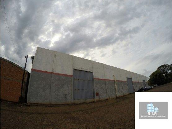Alquiler de Tinglado en zona Franca CDE