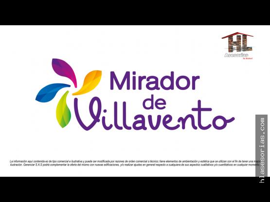 VENTA APARTAMENTO MIRADOR DE VILLAVENTO