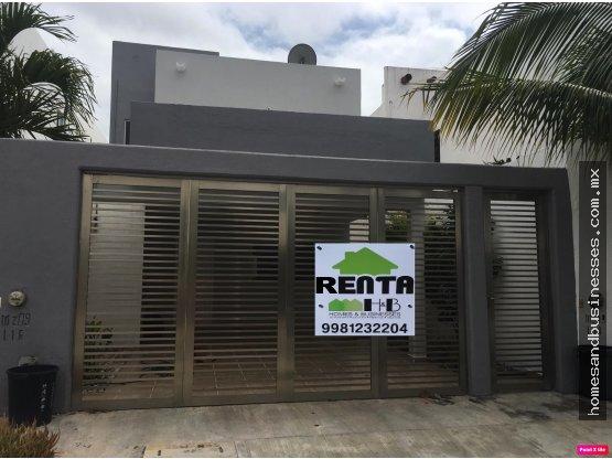 Casa en Renta 3 Recamaras 2 Baños en Isla Azul