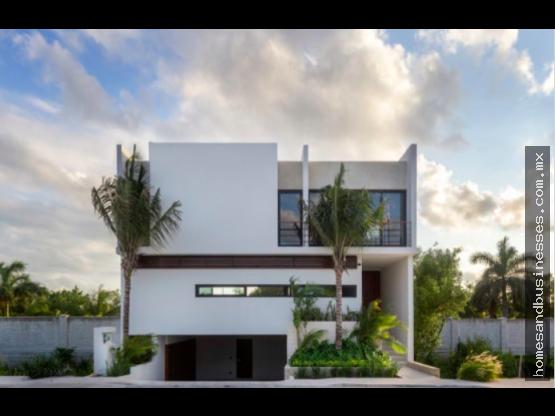 Casa en venta Puerto Cancun 3 recamaras Laguna 1
