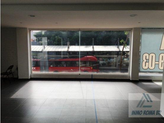 Local Comercial de 83 m2 en 1er Piso Insurgentes