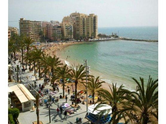 1º Linea Playa del Cura Torrevieja