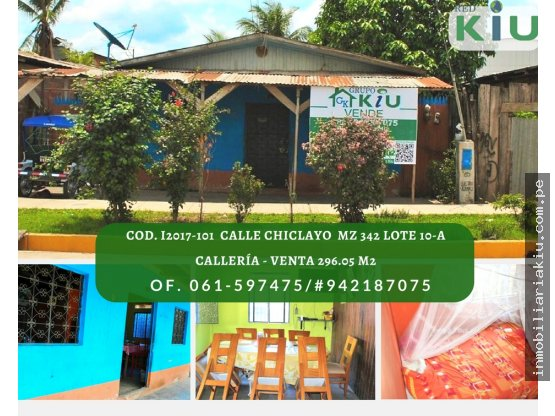 i2017102 Casa en Venta en Calleria 296.05 m2