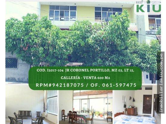 i2017104A Casa en Venta, Callería  600M2