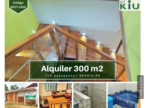 i017142A Casa en Alquiler Amoblada Callería