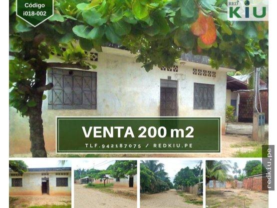 i018002 Casa en Venta en Yarinacocha 200m2