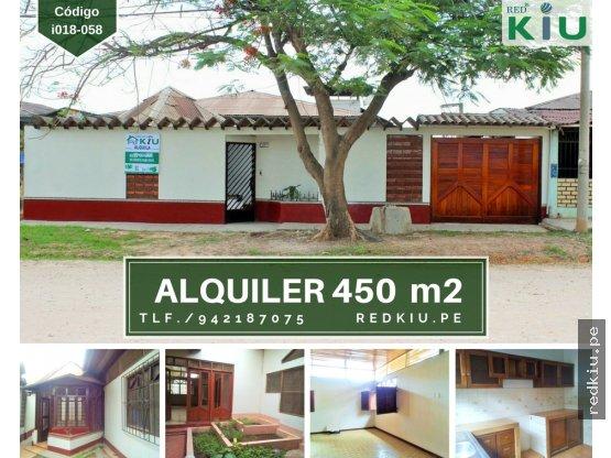 i018058  ALQUILER CASA 450 M2