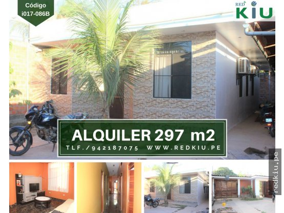 i017086B - Alquiler-Casa Mat/Nob-Manantay-Pucallpa