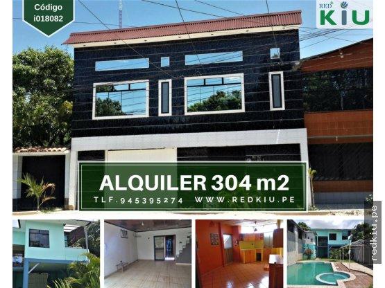 i018082 ALQUILER DE CASA / 304 m2