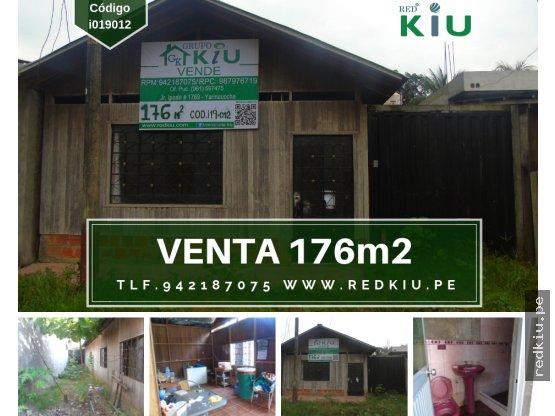 i019012 VENTA CASA MADERA – YARINACOCHA