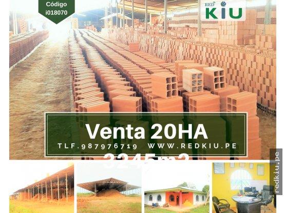 i018070  Venta - Industria Ladrillera - Pucallpa