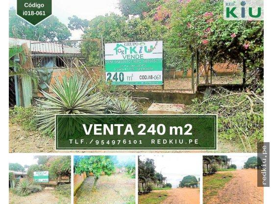 i018061– Venta - Terreno - Yarinacocha