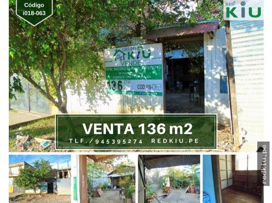 i018063 – Venta-Casa Mat/Madera-Yarina