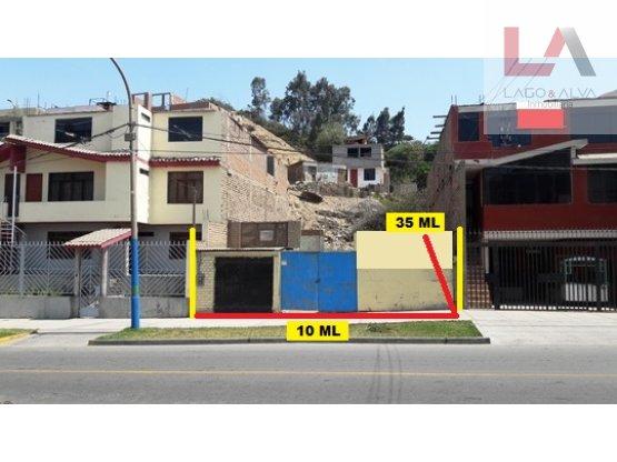 LOTE COMERCIAL DE 350 M2 CON TITULO EN VENTANILLA