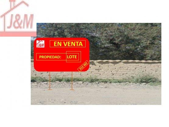 LOTE EN VENTA,TIQUIPAYA-CBBA.