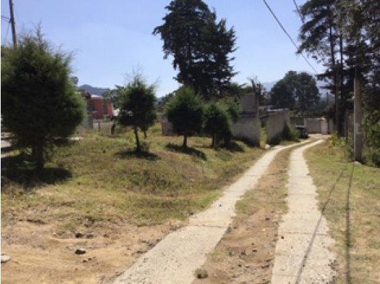 Terreno Fuera de Garita Milpas Altas Sacatepéquez