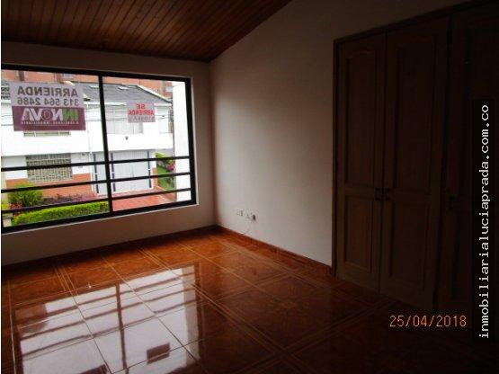 Alquiler casa en Palermo,Manizales