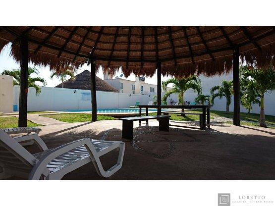 Casa amueblada 2 recamaras en Playa del Carmen