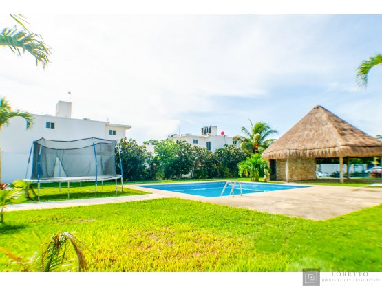 Casa 3 recamaras en Playa del Carmen