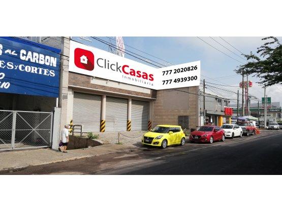 Renta Local Comercial Polvorin Cuernavaca