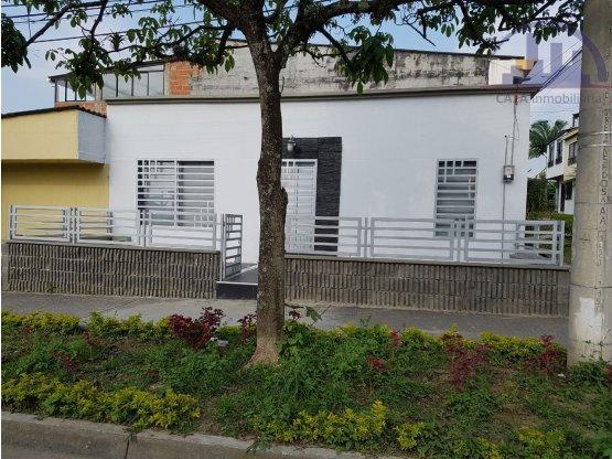 VENDO CASA REMODELADA EN CUBA, PEREIRA