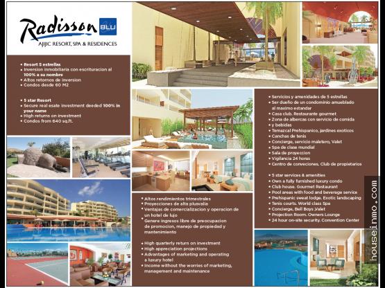 Radisson BLU 1er condohotel en Chapala 5 estrellas