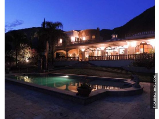 residencia lujosa, ajijic, con vista, jardines,