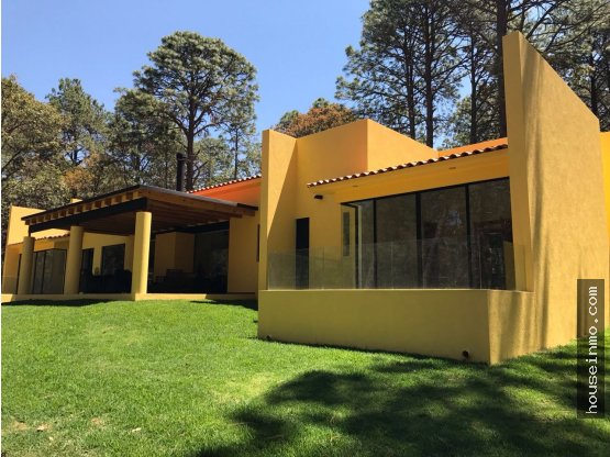 Casa en Tapalpa, moderna en Hacienda san Francisco