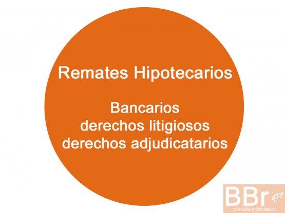 Remates hipotecarios, remates YA ADJUDICADOS