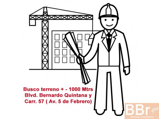 Busco terreno en venta Queretaro Bernardo Quintana