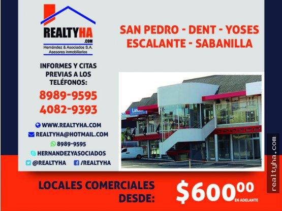 Locales Comerciales en San Pedro