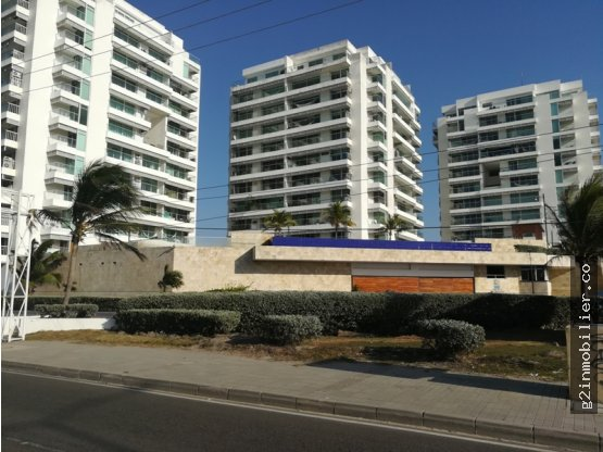 Venta lindo apartamento Cartagena con vista al mar