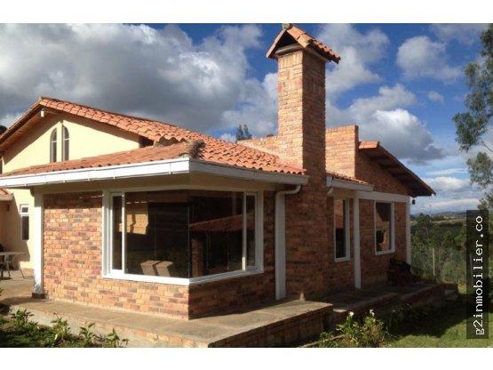 Venta hermosa casa Via Tunja - Paipa