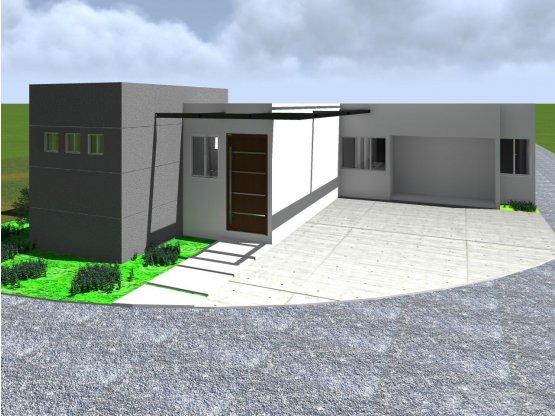 Casa de 1 nivel, Hacienda Las Viñas (D)