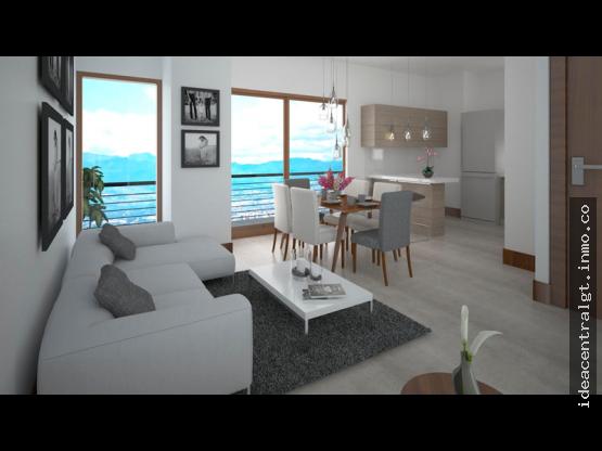 Apartamento de 1 dormitorio en Casa Once