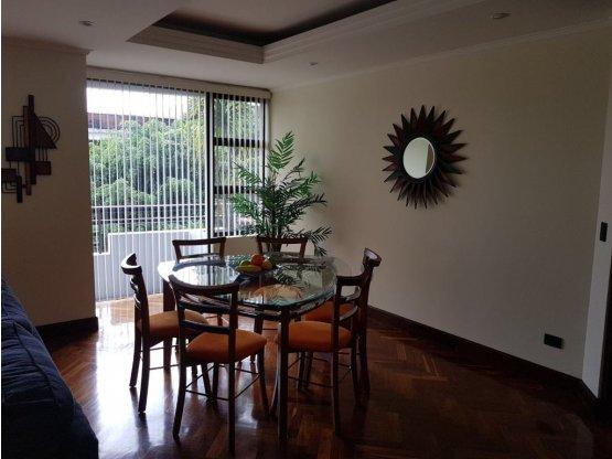 Apartamento amueblado 2 Dormitorios + Servicio