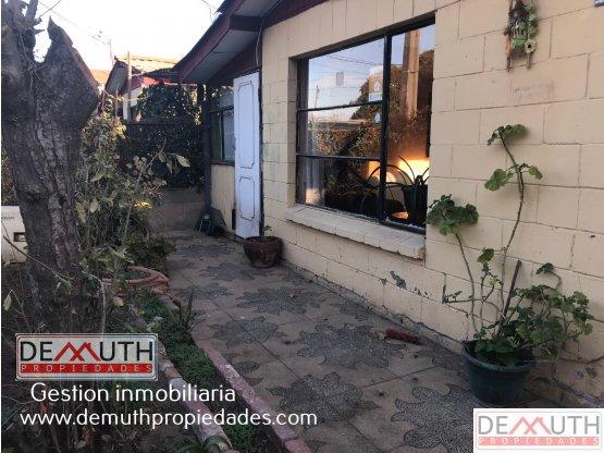 Casa 1 piso en Quilpue, cerca estacion el Sol