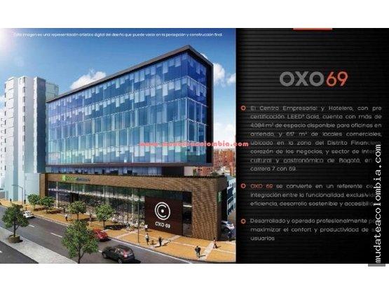 Oficinas amobladas Oxo 69 con Kr 7