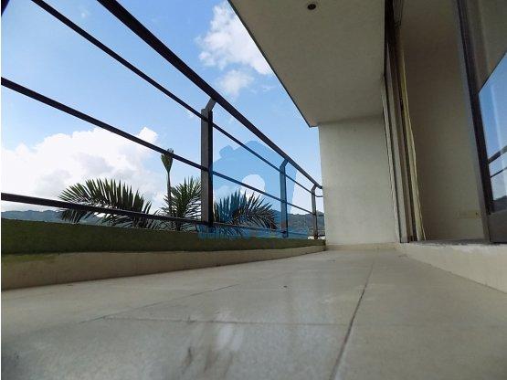 Apartamento 2 alcobas, terraza ext., Valher, Ddas