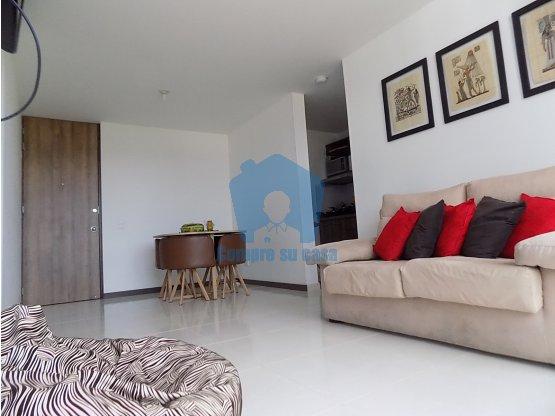 Apartamento 2 alcobas, Balcón, Macarena, Ddas