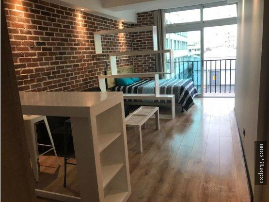 Apartamento Amueb Venta Centro Vivo p Inversión