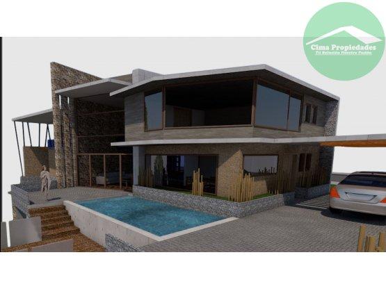 Proyecto Casa Vía del Mirador Villuco Concepción