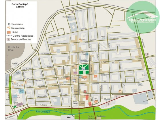 Terreno  con Anteproyecto aprobado Centro Copiapó