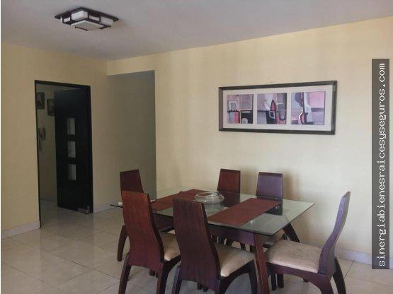 Alquilo apartamento de 3 rec.en Dos Mares,Amoblado