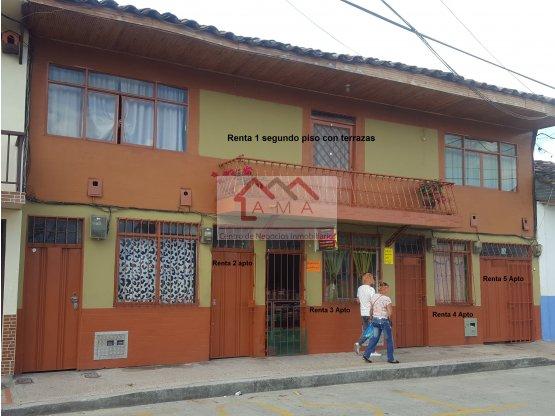 Venta casa en el centro de Montenegro