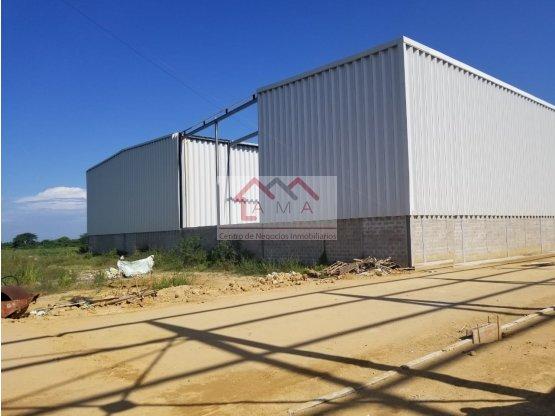 Venta bodegas nuevo centro industrial Atlantico