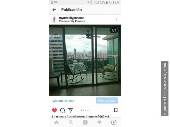 MYM arrienda apartamento en San Francisco, Panamá
