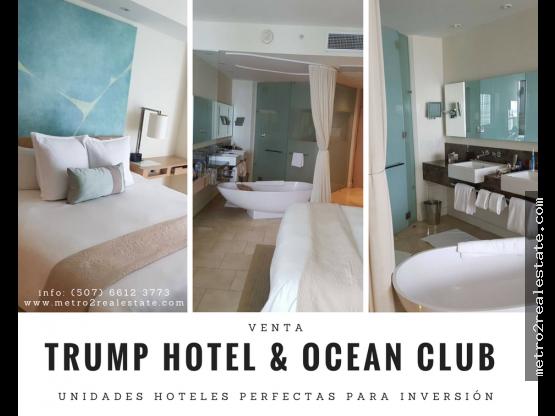 VENTA APARTA-HOTEL EN EL TRUMP.